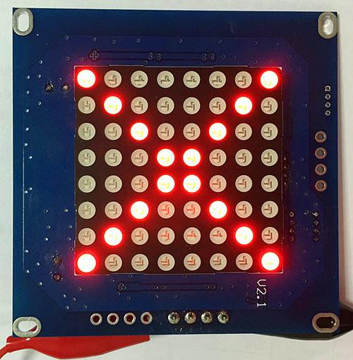 485信号指示灯电路图
